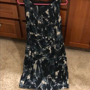 Blue Multi Colored Dress
